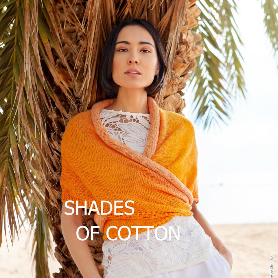 Shades of Cotton Titelbild Anleitungsfleyer