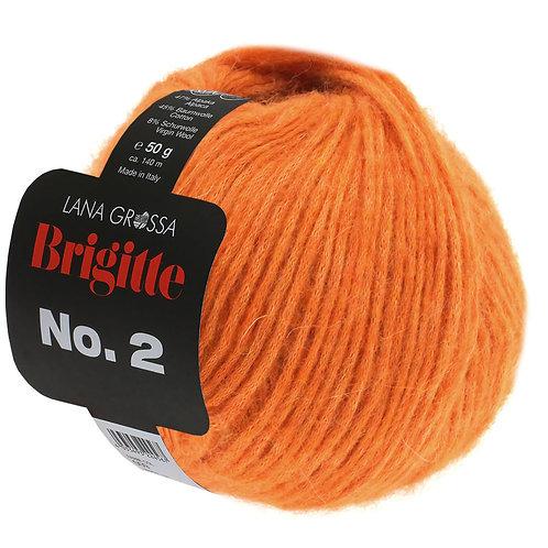 Brigitte no.2 Wolle 10 orange