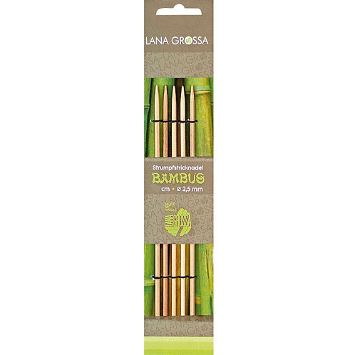 Nadelspiel Bambus