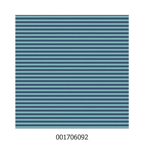 Feinripp Jersey Blau Türkis Streifen