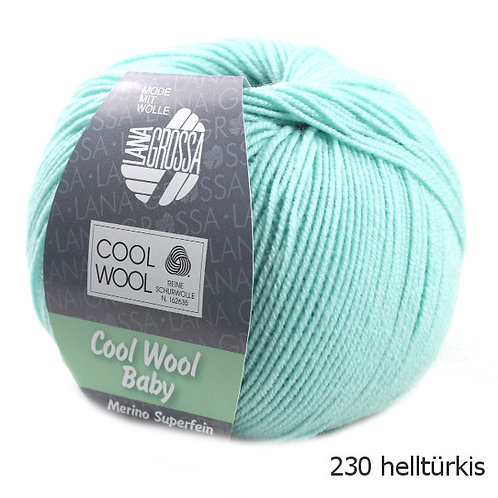 Cool Wool Baby Fb. 230 Lana Grossa Wolle