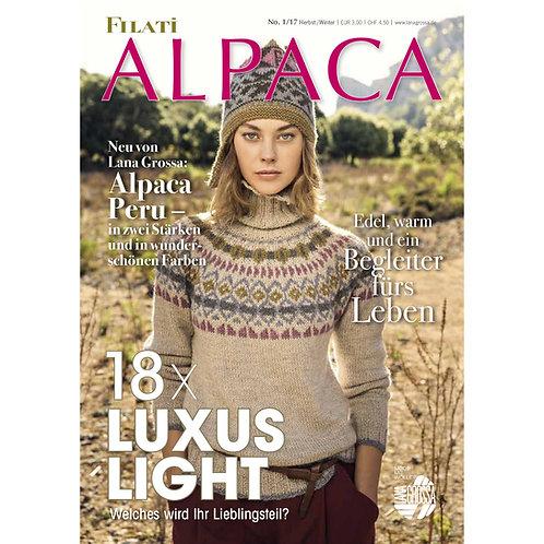 Titelseite Strickanleitung FILATI Alpaca 1