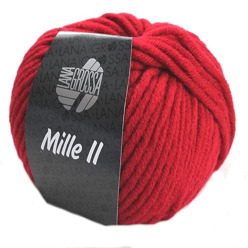 Mille 2 Wolle Lana Grossa 9 weinrot