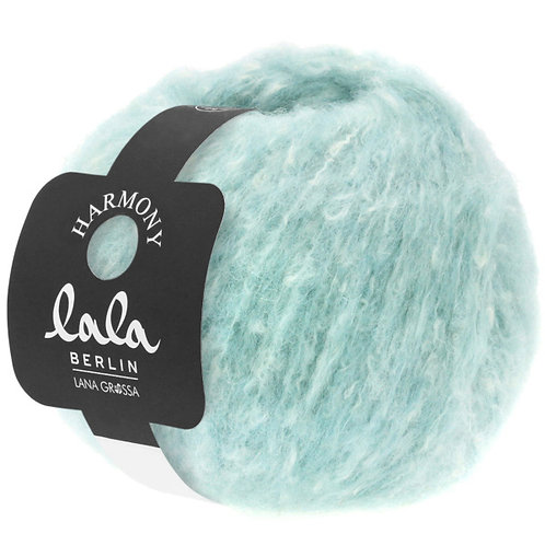 Lala Berlin Wolle Harmony Fb. 1 eisblau