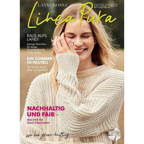 Linea Pura No.14 Strickzeitung für Lana Grossa Garne
