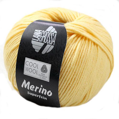 Cool Wool Merinowolle Lana Grossa 411 vanille