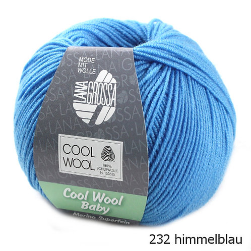 Cool Wool Baby Fb. 232 Lana Grossa Wolle