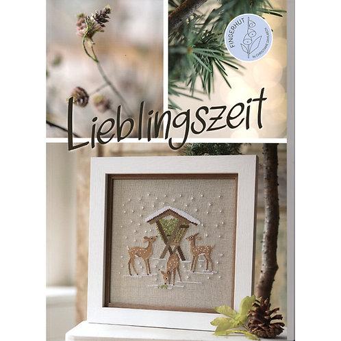 """Kreuzstichbuch """"Lieblingszeit"""" von C.Dahlbeck"""