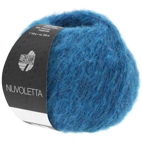 Nuvoletta Lana Grossa Wolle Fb. 08 petrolblau