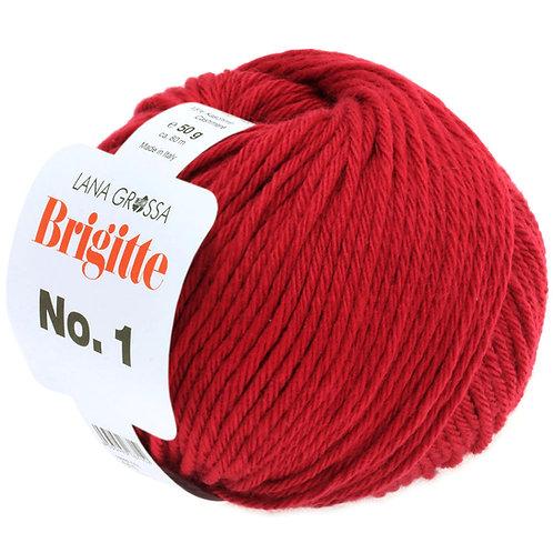 Brigitte No.1 Wolle 1 rot