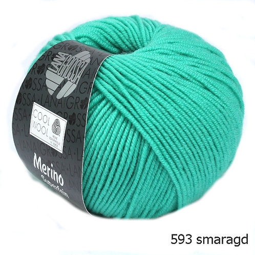Cool Wool Fb. 593 smaragd