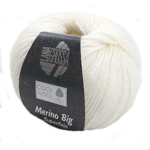 Cool Wool Big Lana Grossa 601 rohweiß