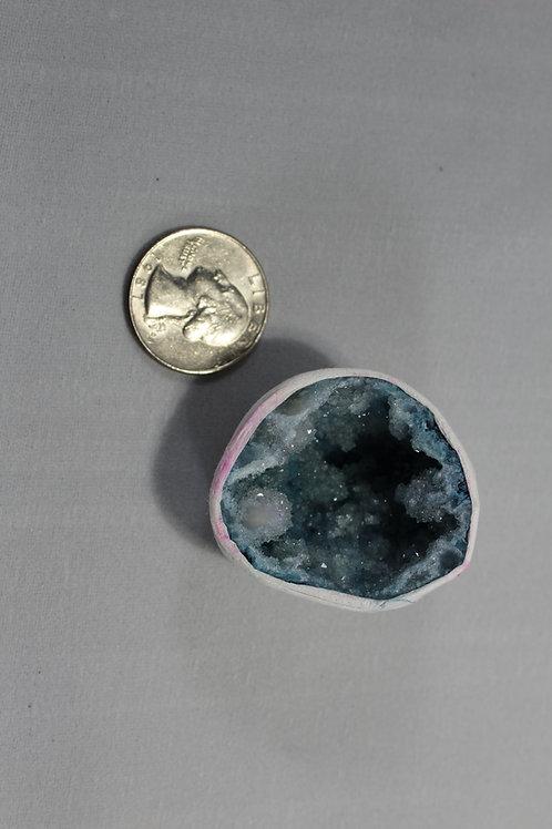 Geode purple or blue