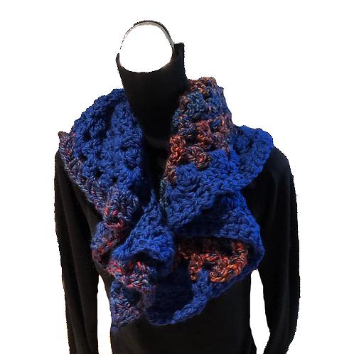 Royal Colour Block flirty scarf