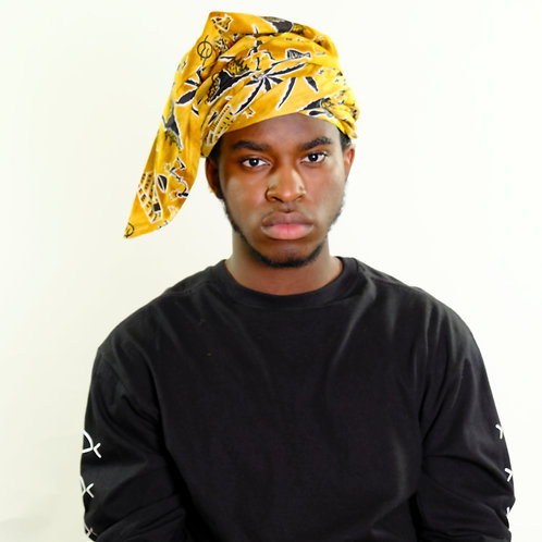Mepe Yellow Head Wrap