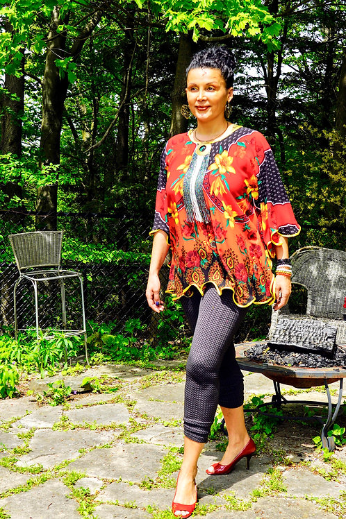 Piquante Butterfly Blouse
