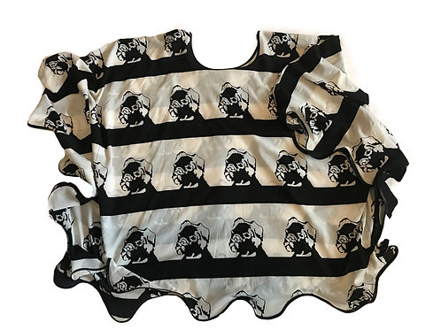Puppies Galore Butterfly Blouse