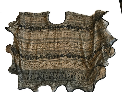 Ancient Parade Butterfly Blouse
