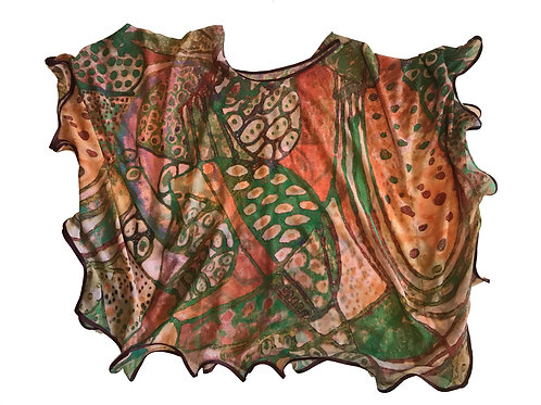 Organic Picasso Butterfly Blouse