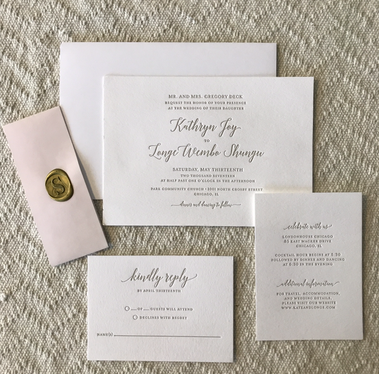 full wedding suite