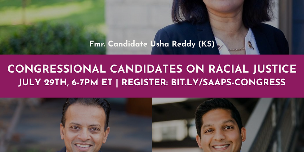A Conversation with South Asian Congressional Candidates on Racial Justice