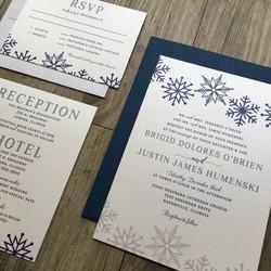 winter wedding suite