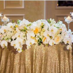 Romantic little sweetheart table