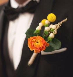 boutonnière #boutonniere #groom 🎎 #moonatelier_la_._._