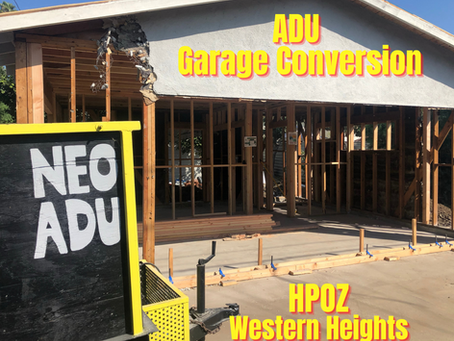 Build an ADU In Western Heights HPOZ!