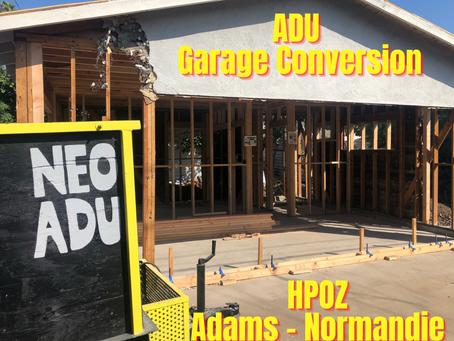 Building an ADU in Adams-Normandie HPOZ
