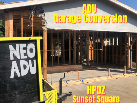 Build an ADU In The Trendy HPOZ Sunset Square