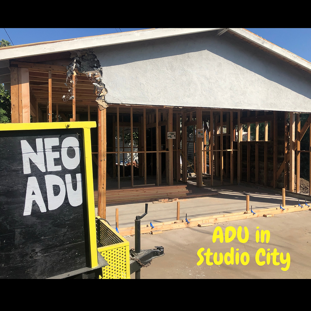 ADU and Accessory dwelling units in Studio City. Studio City Demographics, renting ADU in Studio City.