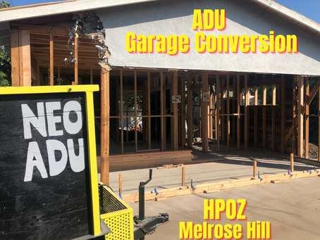 Melrose Hill - Where It's Fashionable To Build An ADU