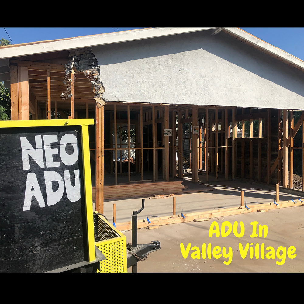 ADU and Accessory dwelling units in Valley Village Valley Village Demographics, renting ADU in Valley Village.