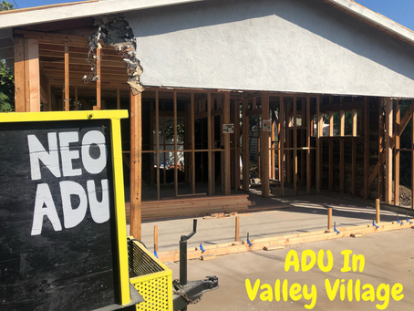 Valley Village- A Great Neighborhood To Build A New ADU