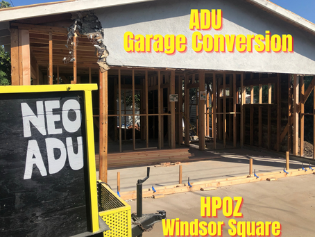 Build an ADU In The Windsor Square HPOZ