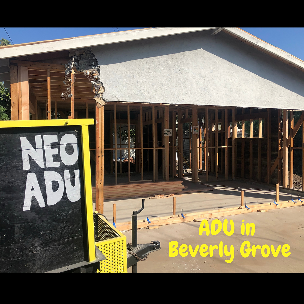 Accessory dwelling unit in Beverly Grove, ADU in beverly grove. Beverly grove demographics. ADU walkablity in beverly grove