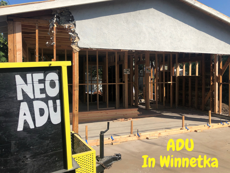 Winnetka- A Safe And Reliable City To Build An ADU