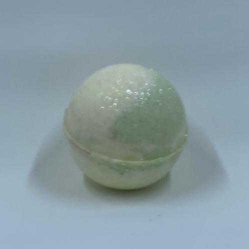 Apple bath bomb