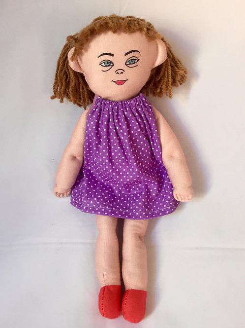 Bonecos diferentes - Criança com Síndrome de Down