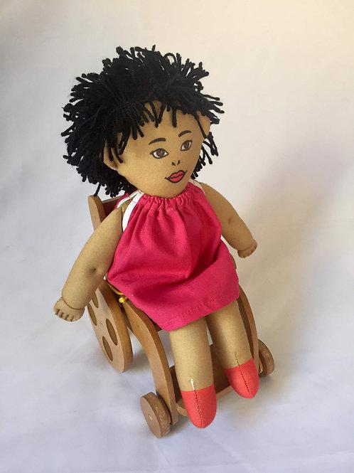 Bonecos Diferentes - Criança Cadeirante