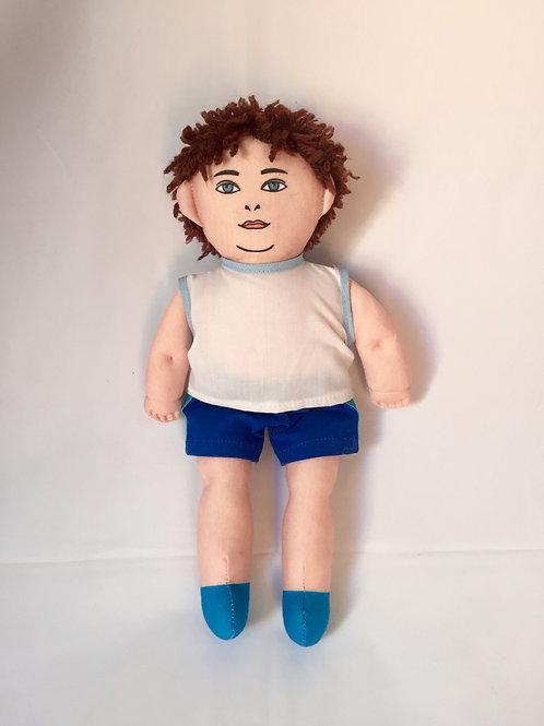 Bonecos Diferentes - Criança Obesa