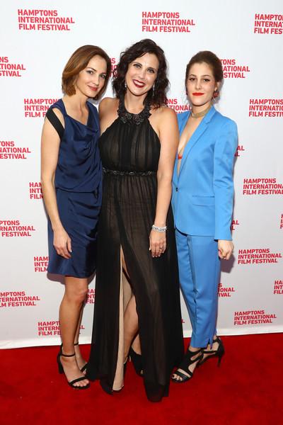 Chandra North, Tiffany Bartok and Kelli Reilly at the Hamptons International Film Festival