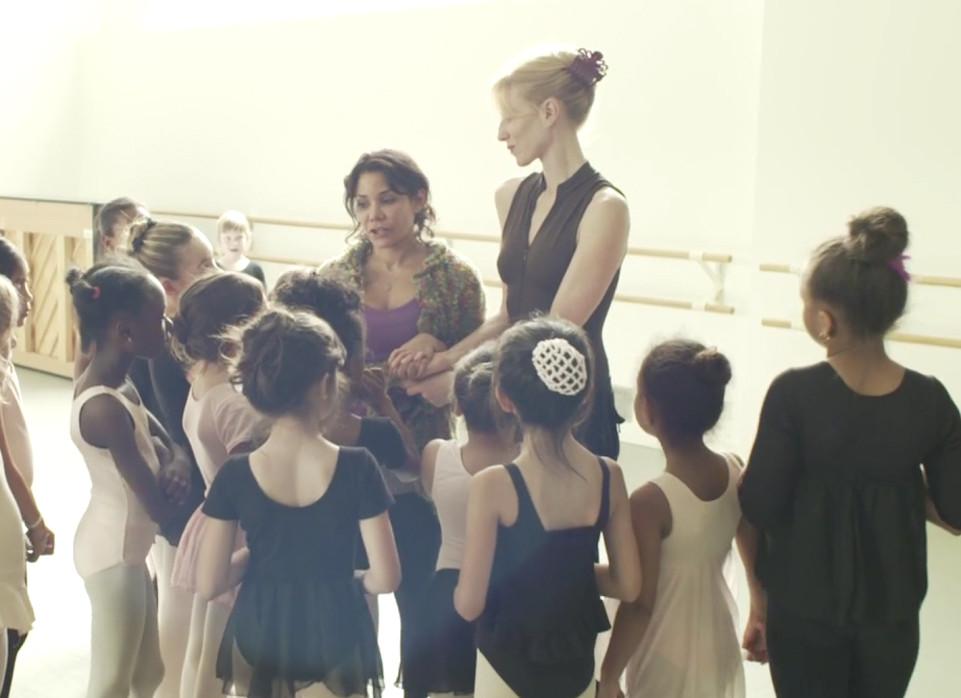 Lauen and Sheila Dance Class - Fall to Rise