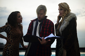 Daphne Rubin Vega, Jayce Bartok, Katherine Crockett on Fall to Rise