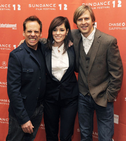 Jayce Bartok, Parker Posey, Josh Pais at Sundance