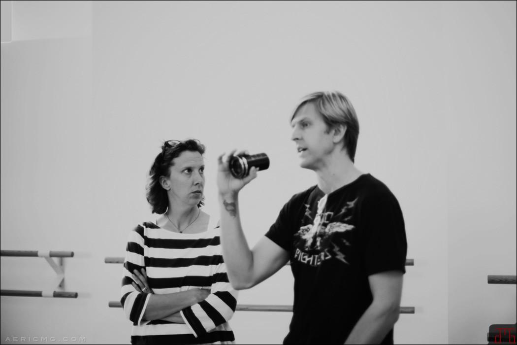 Kate Phelan and Jayce Bartok