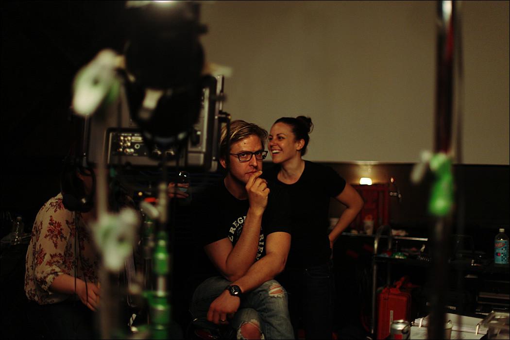 Jayce Bartok and Sarah Kuck