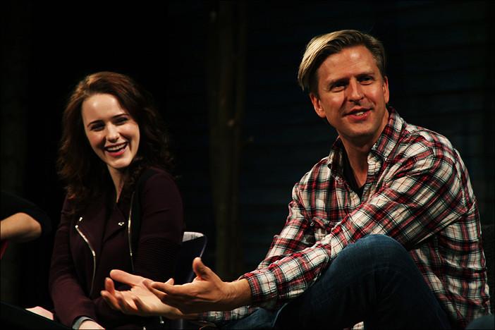 Rachel Brosnahan and Jayce Bartok