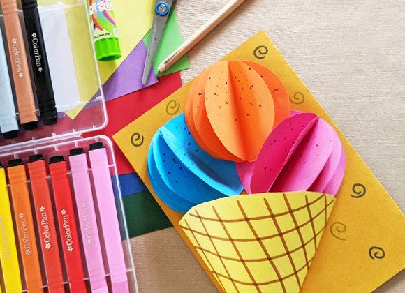 """""""ערכת""""נייר צבעוני"""" המתאימה לחוג """"עולם הנייר"""